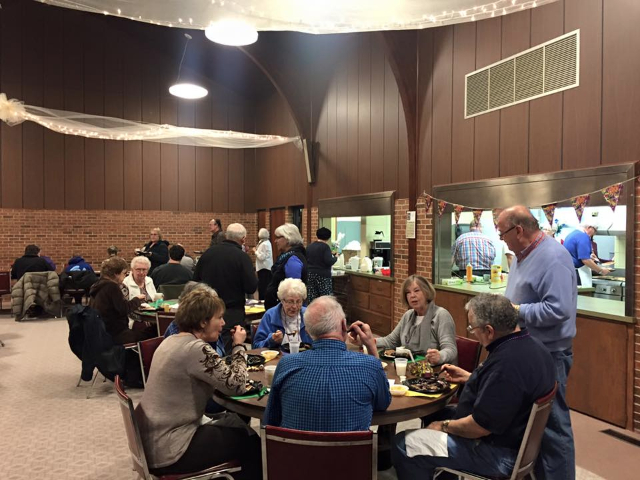 GS attends St. Marks Shrove Tuesday Pancake Supper
